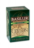 BASILUR Island of Tea Green 20x1.5g sáčků