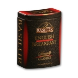 BASILUR Specialty English Breakfast plech 100g