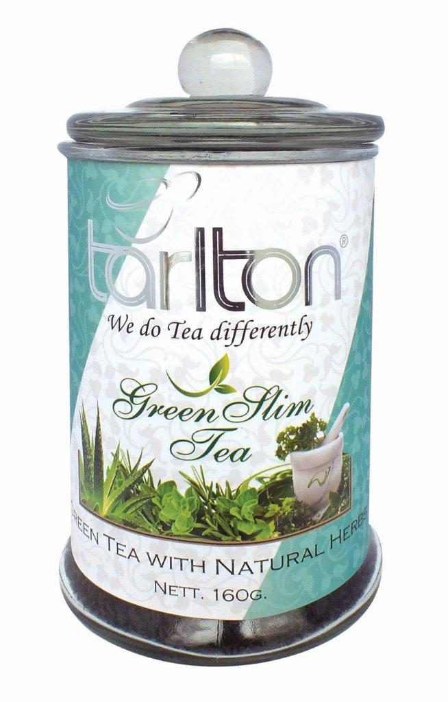TARLTON Green Slim Tea sklo 160g