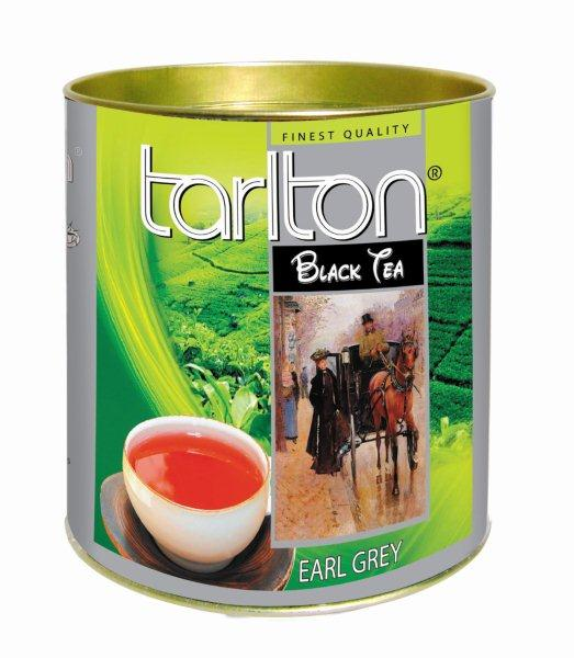 TARLTON Black Earl Grey dóza 100g