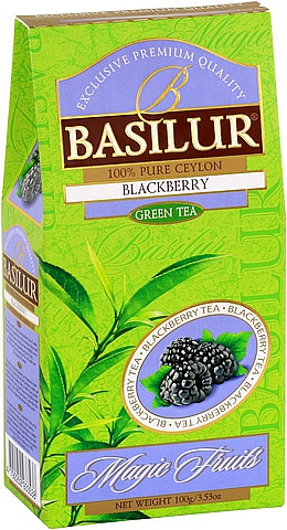 BASILUR Magic Green Blackberry 100g, papírový obal