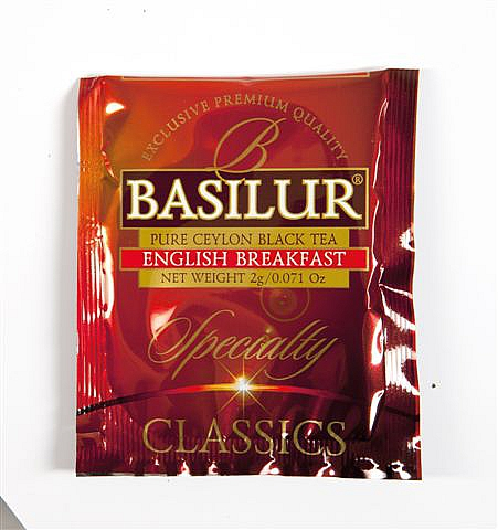 BASILUR Specialty English Breakfast 1x 2g sáček - vzorek