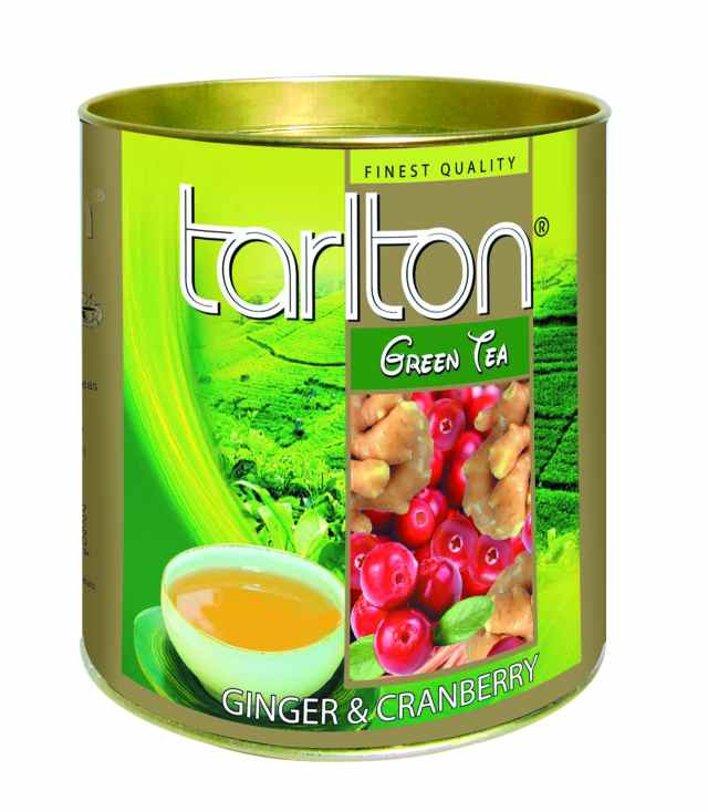 TARLTON Green Ginger & Cranberry dóza 100g