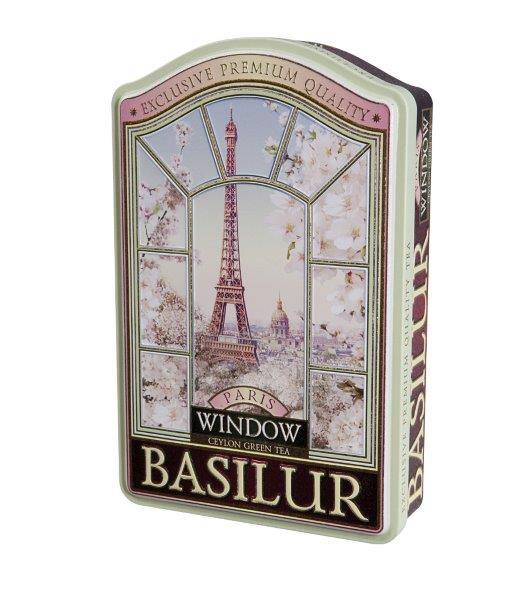 BASILUR Window Paris plech 100g
