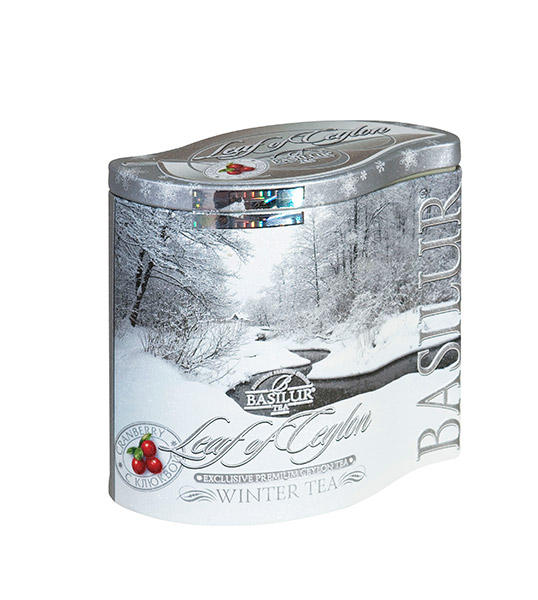 BASILUR Four Season Winter Tea plech 125g