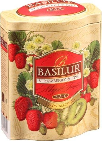 BASILUR Magic Strawberry & Kiwi plech 100g