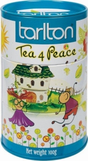 TARLTON Black Tea 4Peace Earl Grey plech 100g