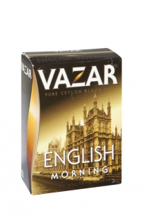 VAZAR Black English Morning papír 100g