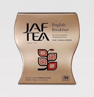 JAFTEA Black English Breakfast FBOP 100g, papírový obal