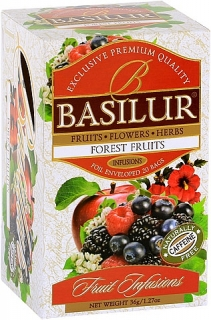 BASILUR Fruit Infusion Forest Fruit 20x1,8g sáčků