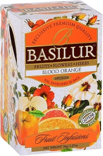 BASILUR Fruit Infusion Blood Orange 20x1,8g sáčků