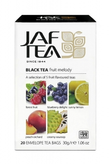 JAFTEA Black Fruit Melody 5x4x1,5g sáčků